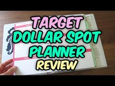 Target Dollar Spot Planner Review and Erin Condren Comparison - http://www.carryhaulwell.com/2015/08/target-dollar-spot-planner-review-and-erin-condren-comparison/ - comparison, dollar spot, erin condren, planner, review, target