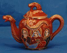 chinese porcelain garden stool sale | ... Asian Decor: Satsuma Dragonware Porcelain Teapot from Kyoto, Japan