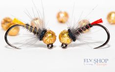 Black pheasant jig nymph fly pattern with a gold sunny tungsten slotted bead and coloured tag end. Two option: orange tag, red tag. Fly Fishing Nymphs, Fly Fishing Lures, Fishing Tips, Nymph Fly Patterns, Fly Tying Patterns, Fly Tying Desk, Orange Bodies, Fly Shop, Flyer
