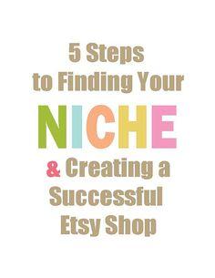 ebook Etsy Business Finding a Niche by karenfieldsgallery, $4.50