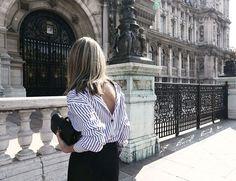 Backward shirt: o llevar la camisa al revés