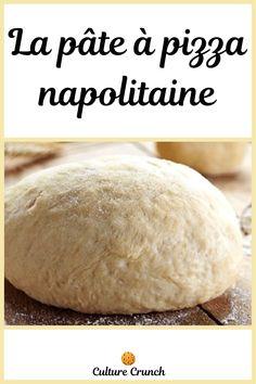 Pate A Pizza Kitchenaid, Pizza Napolitaine, Crunch, How To Make Pizza, Calzone, Veggies, Bread, Foods, Vegan