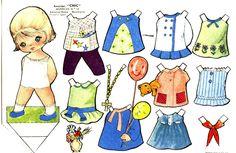 TE CUENTO UN CUENTO: Muñequitas para vestir de papel para imprimir