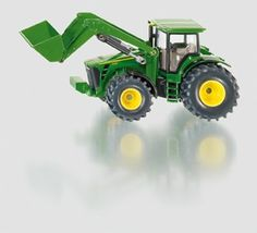 SIKU Farmer 1:50 Scale Die-Cast John Deere Tractor 8430 with Front Loader