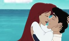 Day 5: Favorite Kiss--Ariel and Prince Eric
