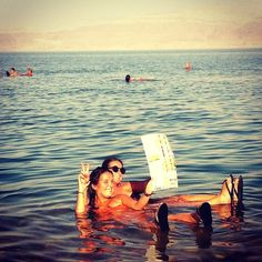Swim in the Dead Sea