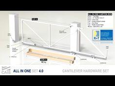 Cantilever take away set