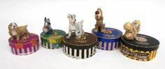 The Disney Wade Hat Box series are always popular. The Lady and the Tramp series crop up quite regularly. This collection includes the main characters in Red Rose Tea, Hat Boxes, Lady And The Tramp, I Remember When, Vintage Disney, Childhood Memories, Red Roses, Pottery, Collections