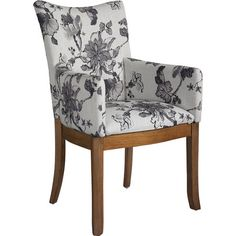 Equally at home pulled up to the dining table or as a part of your living room seating group, this eye-catching arm chair brings chic appeal to your decor wi...