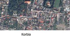 Układy turbinowe oparte na rynku o rzucie kwadratu lub prostokąta i 4 wyloty ulic .  Przykłady miejscowość : Krobia,Proszowice,Krościenko n. Dunajcem,