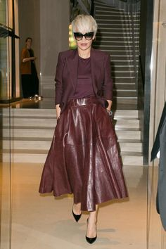 Rita Ora in Bally - Tonal