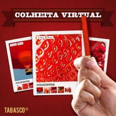 """""""Le petit bâton rouge"""" quer colher as melhores imagens com o vermelho perfeito no Pinterest. As melhores imagens na cor ideal serão selecionadas para a board Colheita Virtual TABASCO® e os Canteiros (boards) mais criativos poderão concorrer a prêmios. Siga o perfil Colheita Virtual TABASCO®, crie o seu próprio Canteiro com o nome """"Canteiro de SEU NOME"""", use a legenda #colheitavirtual nas imagens e participe!"""
