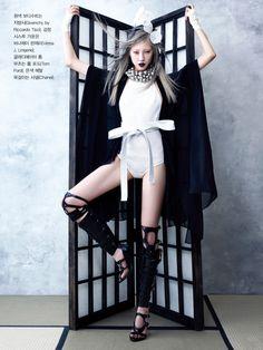 Soo Joo by Hyea-Won Kang for Vogue Korea June 2013 13