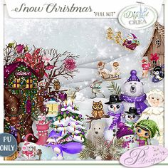 Snow Christmas by Pli Designs https://digital-crea.fr/shop/index.php?main_page=index&cPath=155_270