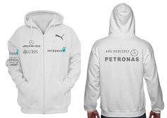 Men Mercedes AMG Petronas hoodie thin sweatshirt