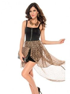 729b697a70004 club  clubdress  sexy  dresses  dress  dressing  partydress Polished  Asymmetrical Straps Leopard Clubwear  3  3