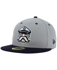 Show pride in your local Minor League team, or support your favorite Mlb team's farm system with this Lake Country Captains MiLB 59FIFTY cap. Stylish and comfortable, these caps identify you as a true