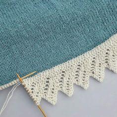 Sniker inn litt bestillingsstrikk nå i julestria, til eldstefrøkna som har teg., inn litt bestillingsstrikk nå i julestria, til eldstefrøkna som har tegnet drømmegenseren sin til meg. Knitting Daily, Knitting Stiches, Lace Knitting, Baby Knitting Patterns, Crochet Lace, Crochet Patterns, Knitting Squares, Diy Crafts Knitting, Knitting Projects