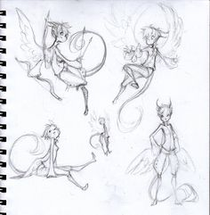 Sketches - Tak by `sambees on deviantART