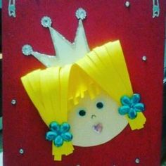 Children's day craft idea for kids – Crafts and Worksheets for Preschool,Toddler and Kindergarten Summer Crafts, Kids Crafts, Preschool Crafts, Easy Crafts, Diy And Crafts, Arts And Crafts, Paper Crafts, Preschool Age, Free Preschool