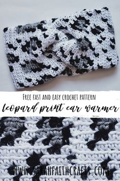 Beginner friendly into to work with multiple colors. Source by sarahfaithcrafts Crochet Ear Warmer Pattern, Crochet Headband Pattern, Crochet Fabric, Easy Crochet Patterns, Knit Or Crochet, Crochet Crafts, Crochet Hooks, Crochet Accessories Free Pattern, Free Crochet