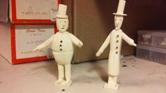 G Scale  / Gn15 figures made from balsa wood.