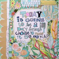 #artjournal   Flickr - Photo Sharing!  the great Pam Garrison