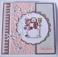 Snow Angels - Stampin' Up