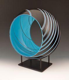 Portal by Nick Leonoff of New York, NY. 2015 NICHE Awards Finalist. Category: Glass- Blown #blownglass, #artglass