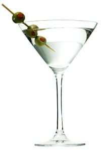 Classic Vodka Martini. Dry--just a touch of Vermouth. extra dry--just vodka, or gin.