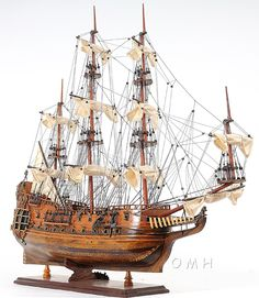 1650 HMS Fairfax Tall Ship