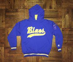 Vintage 1990s St. Louis Blues Starter Script Sweatshirt hoodie crewneck hat  jersey shirt pierre turgeon bernie federko jeff brown nhl by  BroadwayVintageLLC ... 798a17182