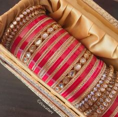 bangles indian awesome results - ImageSearch Indian Wedding Jewelry, Indian Bridal, Indian Jewelry, Indian Bangles, Silk Bangles, Indian Weddings, Bridal Bangles, Bridal Jewelry, Silver Jewelry