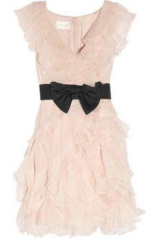 Notte by Marchesa Ruffle Dress