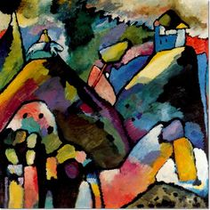 Wassily Kandinsky - Improvisation 9 1910 Painting