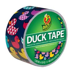 Printed Duck Tape Brand Duct Tape, Rubber Duck