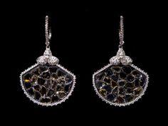 DIAMONDS! Oorbellen. Earrings #Oorbellen #Earrings #Juwelen #Jewelry #LillyZeligman.com www.lillyzeligman.com
