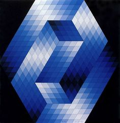 View Gestalt Blue Untitled 2 by Victor Vasarely on artnet. Browse upcoming and past auction lots by Victor Vasarely. Victor Vasarely, Op Art, Middle School Art Projects, Framed Art Prints, Poster Prints, Josef Albers, Square Art, Arte Popular, Sculpture
