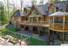 Unique Log House