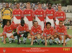 1999-2000 As Monaco Fc, Football Soccer, Christmas Sweaters, Baseball Cards, Sports, Community, Prague, Hs Sports, Sport