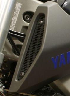 Barre de protection de protection moteur blanche pour cage de cascade pour Yamaha MT FZ 09 Tracer MT-09 FZ-09
