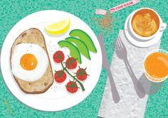 Breakfast Spread - Alice Oehr