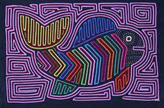 traditional mola motifs - Google Search