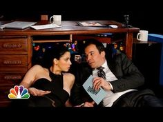 Sarah Silverman - Desk Fort with Sarah Silverman (Late Night with Jimmy Fallon) - http://lovestandup.com/sarah-silverman/sarah-silverman-desk-fort-with-sarah-silverman-late-night-with-jimmy-fallon/