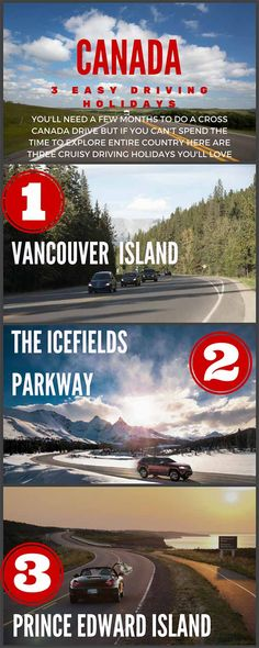 Driving across Canada | How to Plan a Canadian road trip