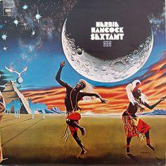 herbie hancock - sextant (1973).  I have this on vinyl.  rock.