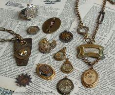 Steampunk biżuteria