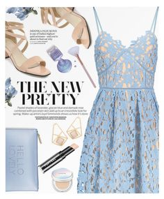 """""""Crochet flower dress"""" by yexyka ❤ liked on Polyvore featuring Katie Loxton and Laneige"""