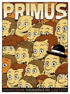Primus Poster Series - Travis Millard