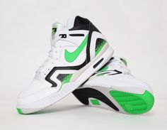 innovative design b347d fd7e2 Nike Air Tech Challenge II Poison Green sneakers Green Sneakers, Mens  Sneakers,